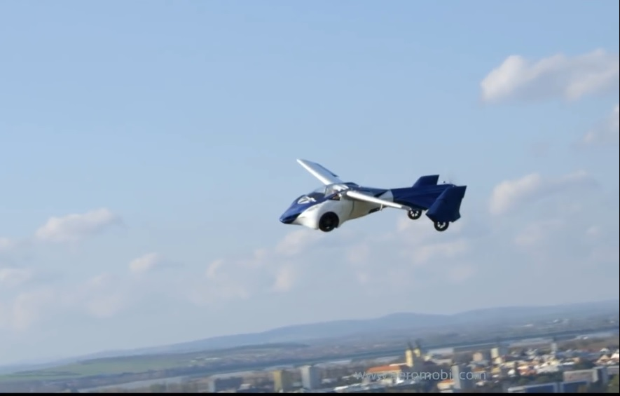 The last notable personal flying car developed during the last ten years and which was not influenced by the pipistrel alpha electro electric trainer aircraft , this personal flying car for sale is the aero mobil version 3 , introduced and unveiled to the public in october 2014 in vienna festival ,its design features are not caracterizing a personal flying for a broad consumer base but only for wealthy individuals who have a disposable income of 1.2 to 1.6 million $ to spend on aero mobil flying car , for those interested in owning one , the company web site has an ordering page .