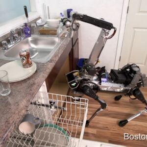 boston dynamic spot robot dog