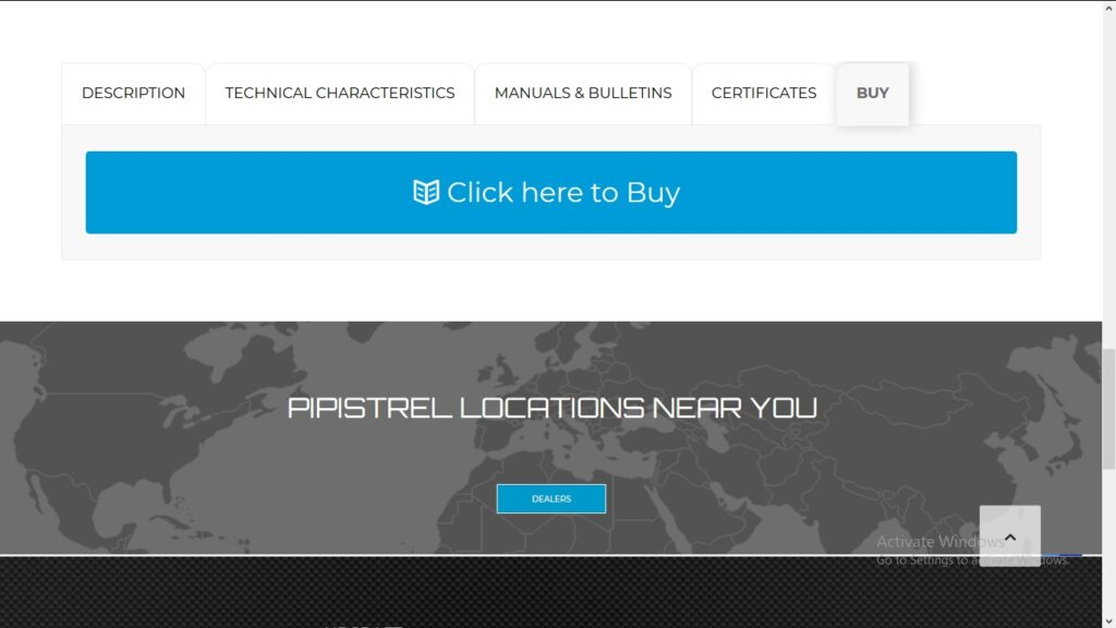 pipistrel ordering page