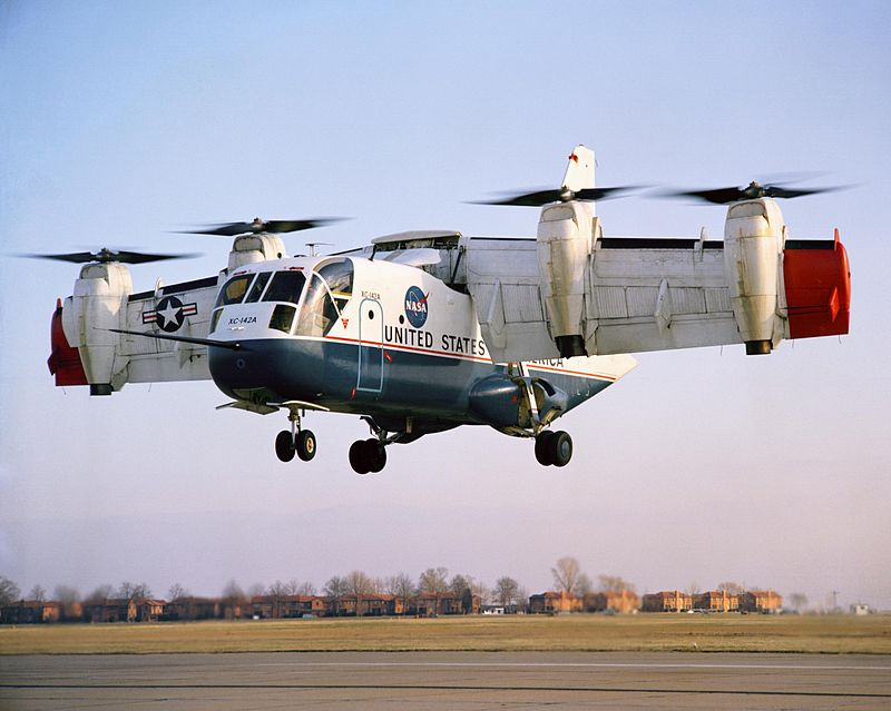 Ling Temco Vought XC 142A
