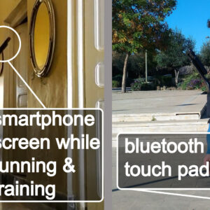 unismart while running and walking
