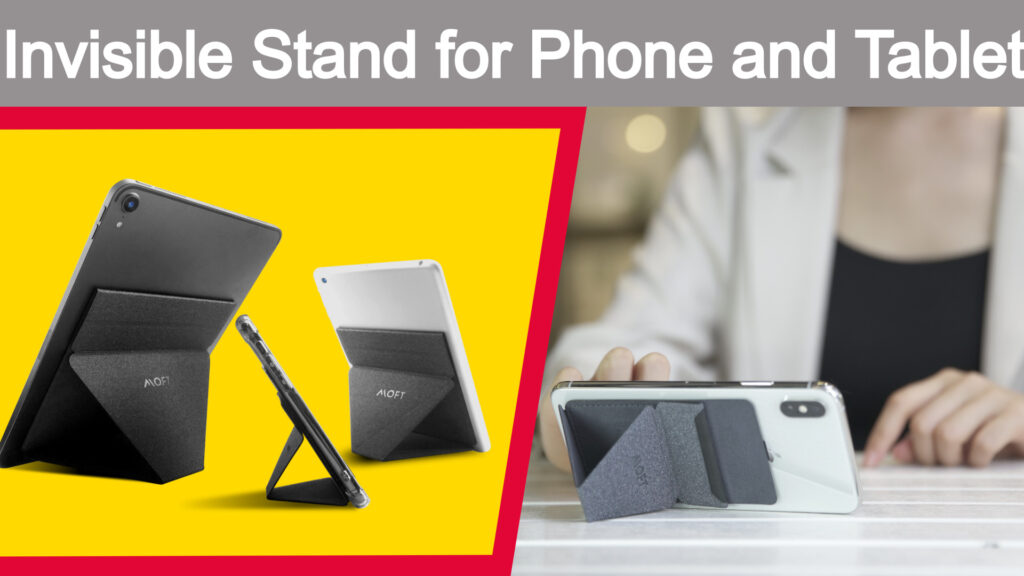 Top 5 latest and coolest gadgets and inventions successfully funded on indiegogo moft x stand for phone and tablet