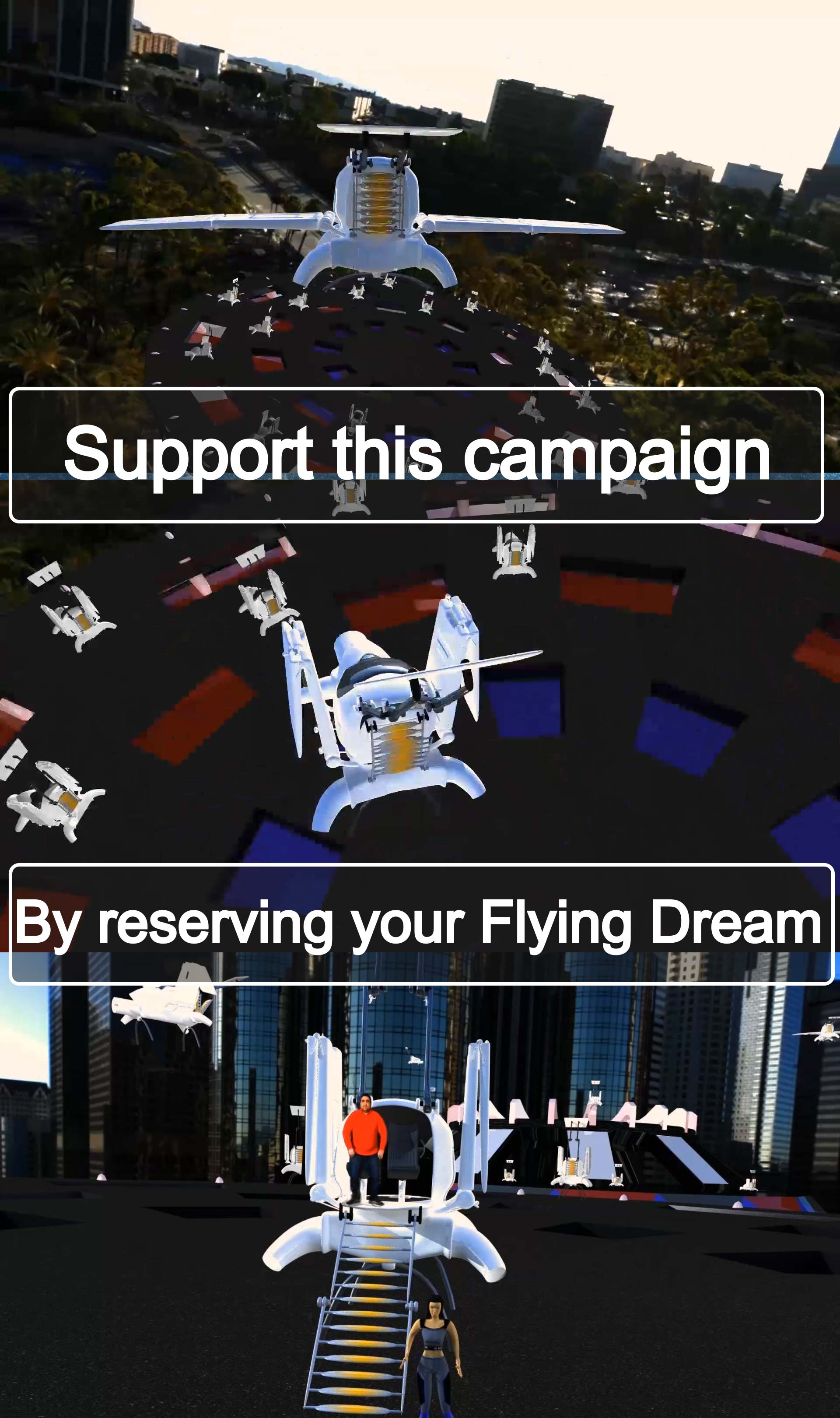 Flying Dream side bar support picture