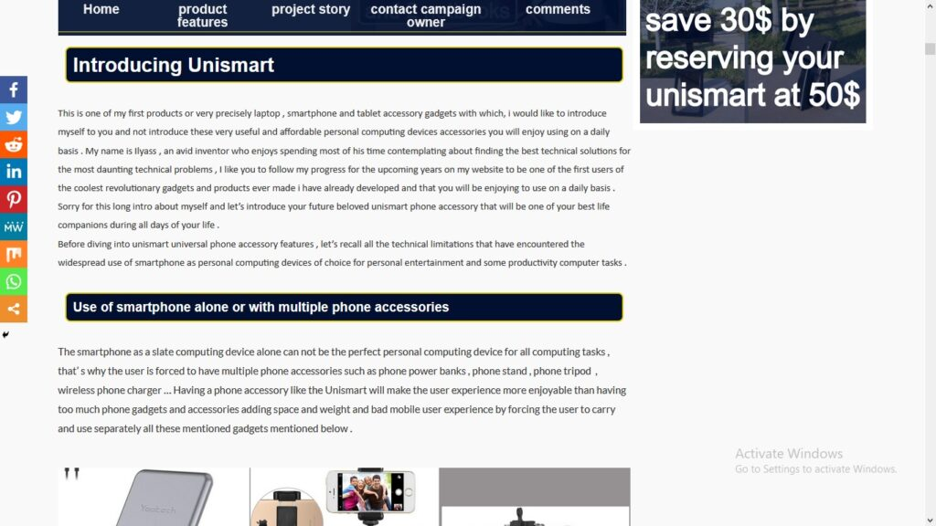 unismart campaign page pic4 product features