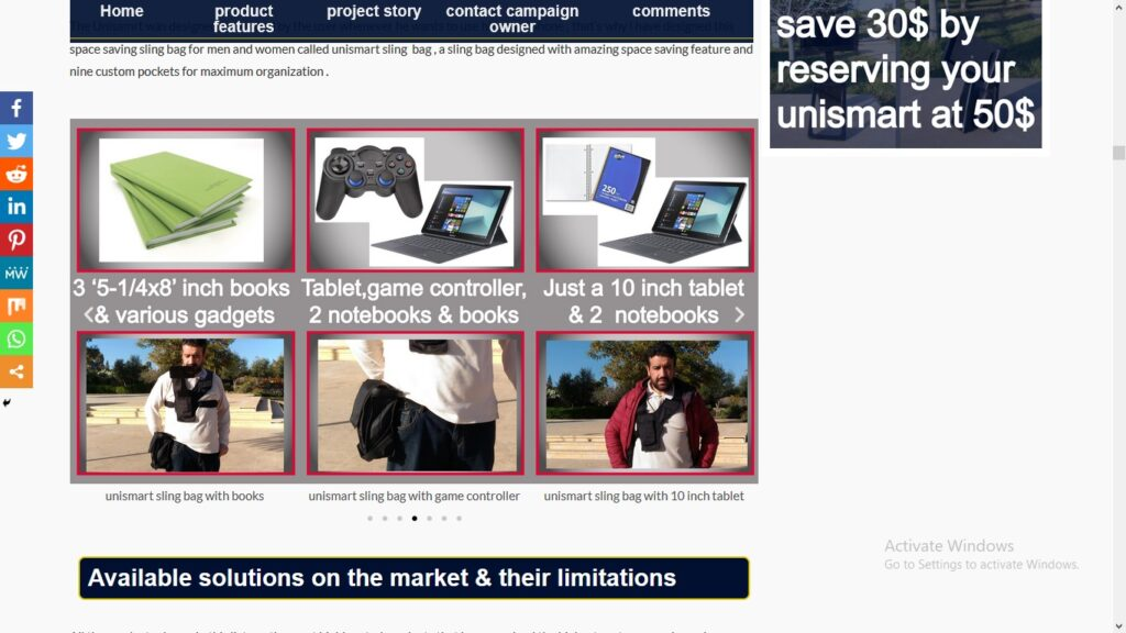 unismart campaign page pic5 product features